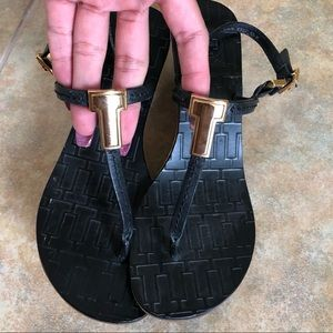 Tory Burch Wedge Sandals Size 5.5
